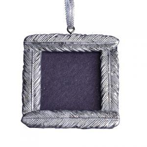 Rama foto argintie 7.5×7.5cmRama foto argintie 7.5×7.5cm
