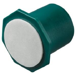 Suport lumanare 22 verde cu adeziv 25 buc