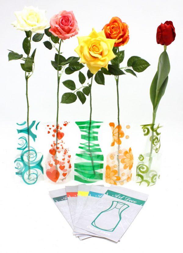 Vaza decorativa rapida verde