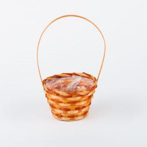 Cos florentin portocaliu D17×H11/33