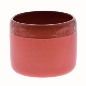 Vaza ceramica rotunda Rosie mat-lucios