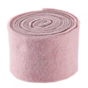 Rola din lana roz decorativa pentru flori
