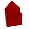 Cutii model plic rosu