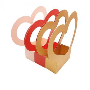 Cutie carton cu maner inima