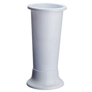 Vaza pentru flori IDEAL D22 X H50 alba