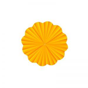 Folie celofan rotund portocaliu, Ambalaj pentru flori