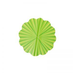 Folie celofan rotund verde, Ambalaj pentru flori