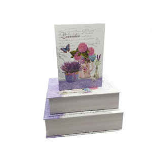 Set 3 cutii carton carte