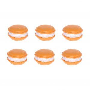 Decoratiuni macarons orange, Decoratiuni interior sau exterior