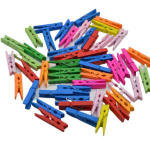 Carlige decorative colorate 50 buc/set, Carlige de agatat, Carlige pentru decor