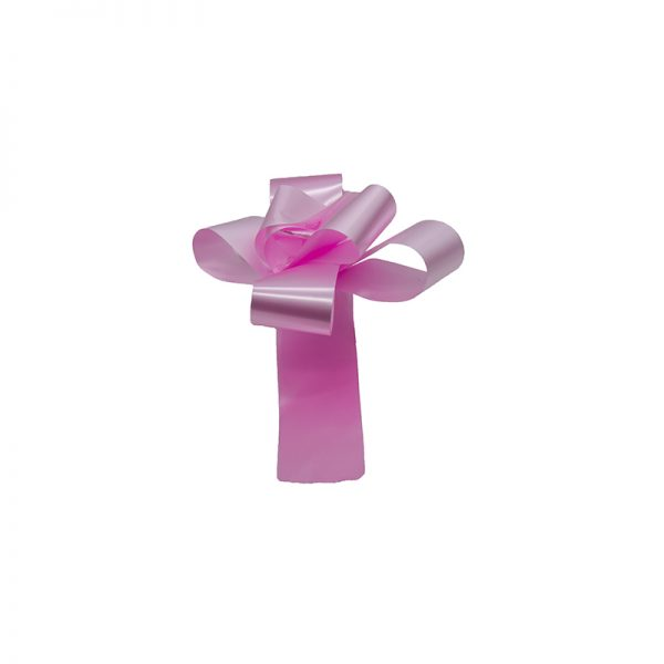 Funda rapida mare lata roz, Panglica decorativa, Funda pentru cadouri