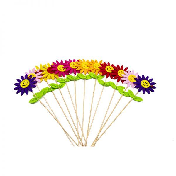 Flori pasla pe bat, Flori pentru gradina