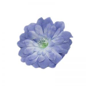 Flori capete diverse albastru pastel