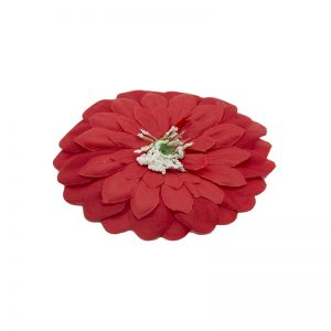 Flori capete diverse rosu