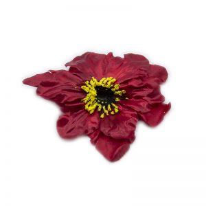 Flori capete diverse visiniu