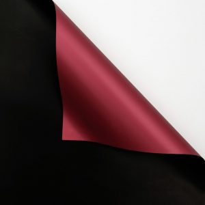Hartie ambalaj dublu fatetata impermeabilă, negru-greana, 20 de foi