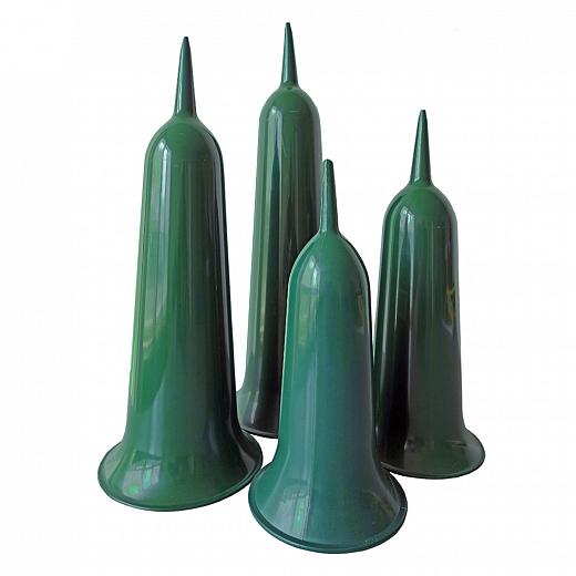 Vas funerar verde 26 cm