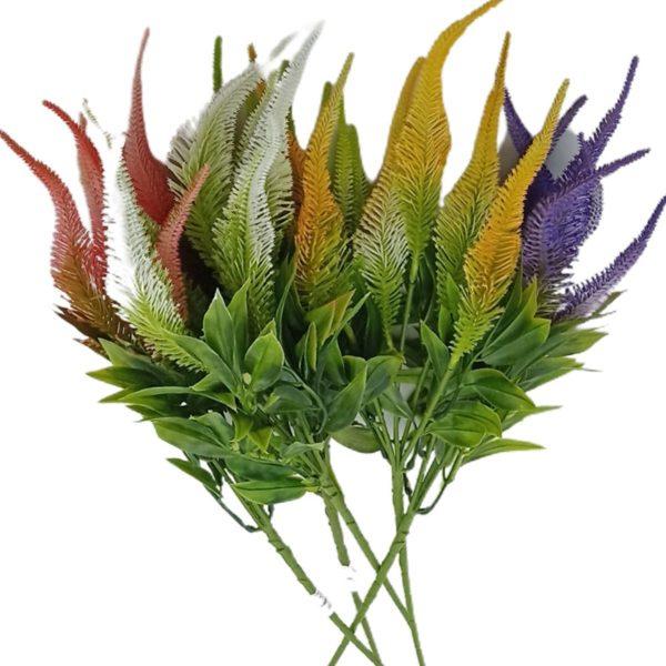 Buchet 5 flori Veronica artificiale