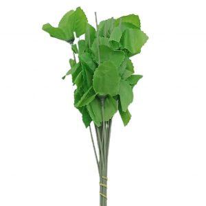 Set 20 cozi artificiale mici cu frunze