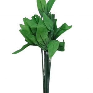 Set 20 cozi artificiale mari cu frunze