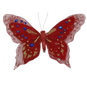 Fluture cu cleste 20x15cm