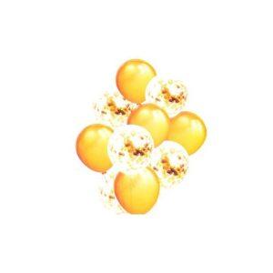 Baloane Cu Confetti Sclipici 10/Set