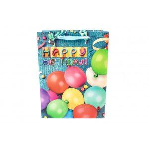 Pungi Pentru Cadou Cu Baloane Multicolore