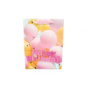 Pungi Pentru Cadou Cu Baloane Roz