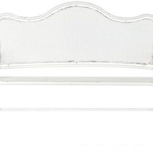 Banca metal 120x52x96 alb