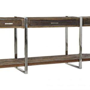 Consola lemn reciclat 180x44x75